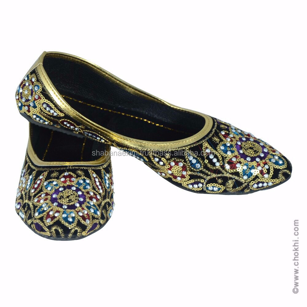 Indian Ethnic Bellies Casual Sandals Mojri Rajasthani Sandals