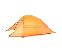 NatureHike CloudUP1 Super Light Out Door Camping 1 Person Tent (210T Nylon Material)