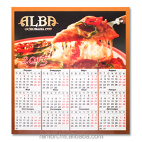 Fridge magnet calendar / promotional magnetic calendar, notepad