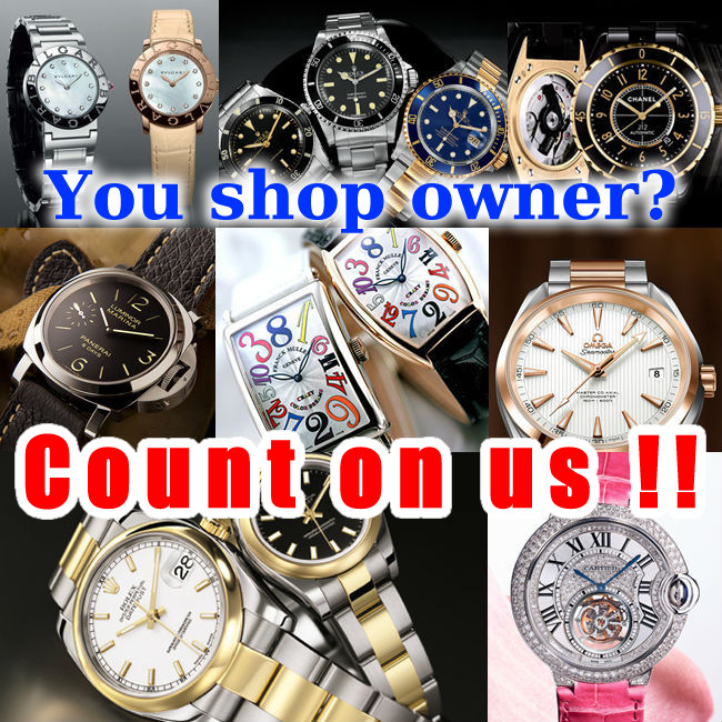 100% authentic used famous watches popular among men