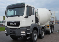B/NEW - MAN TGS 44.400 BB-WW 8X4 CONCRETE MIXER (LHD 821376)