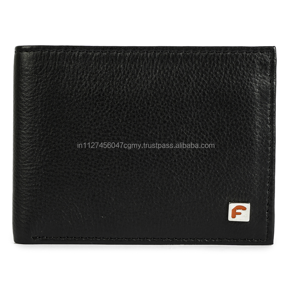MEN'S PASS CASE WALLET WITH FLIP OUT ID WINDOW