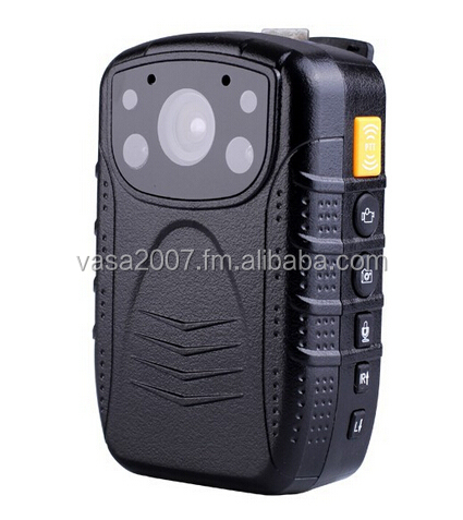 HD 1080P Multi-function Police Body Camera with Nigh Vision