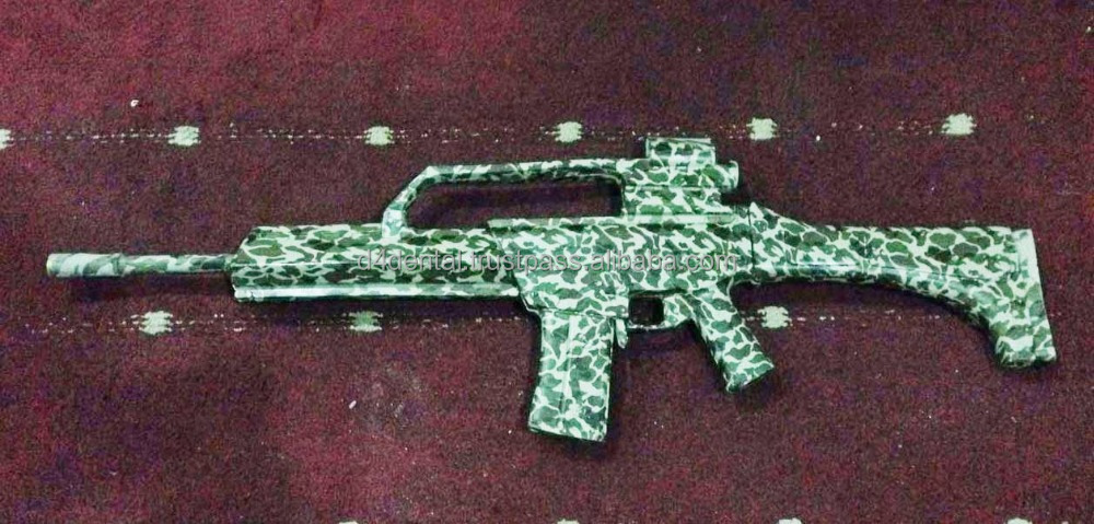 Training Plastic / Rubber Gun Rifle Camouflage , Defence Police Army MMA Practice Personal Training Tools & Weapons