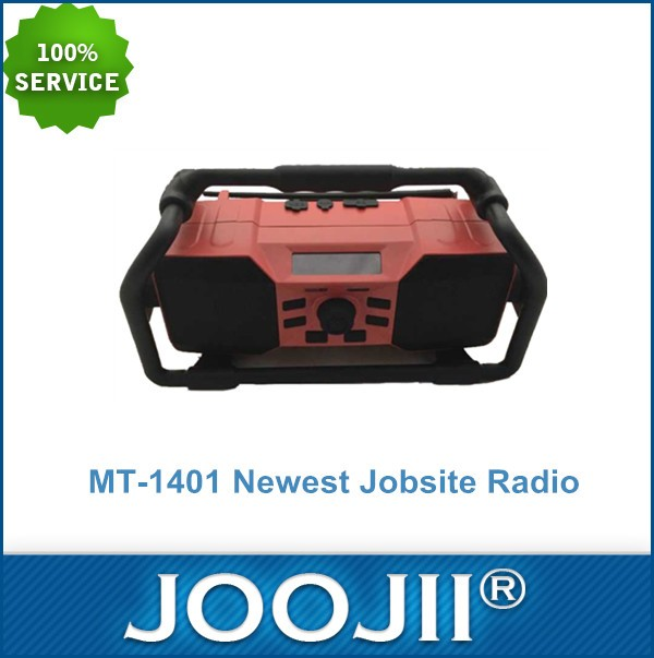 2016 Newest China Wholesale Waterproof DAB Jobsite Radio with FM RDS, Bluetooth