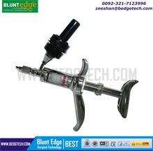 Automatic Metal Vaccinator/Syringe/Brass Chrome Plated Luer Lock 1ml-5ml-10ml