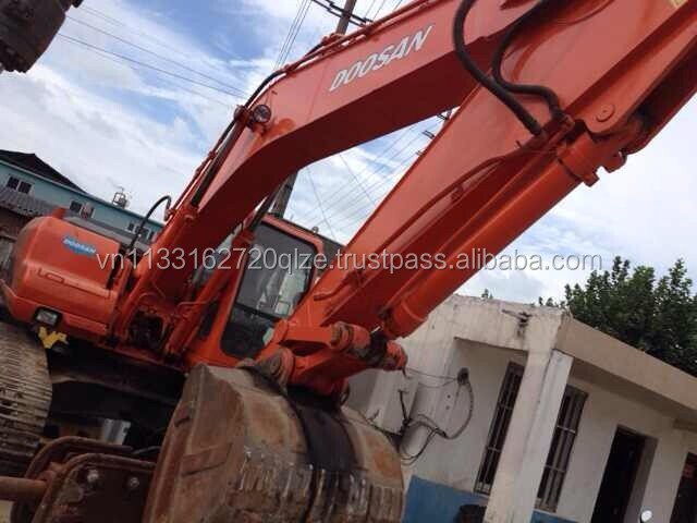 Cheap used construction machinery original Doosan DH220-7 used excavator for sale