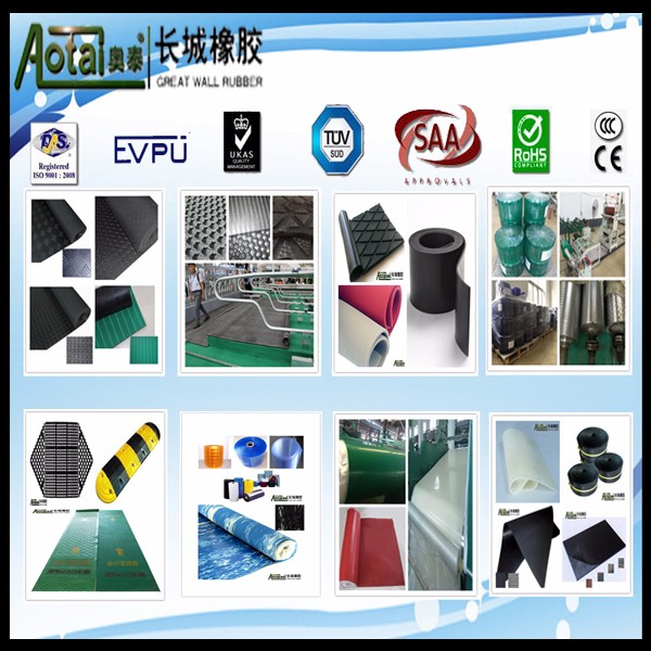 Drum Pulley lagging large diamond rubber sheet roll