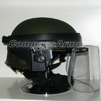 BPHV-01 Tactical Ballistic Protection Helmet with Face Shield