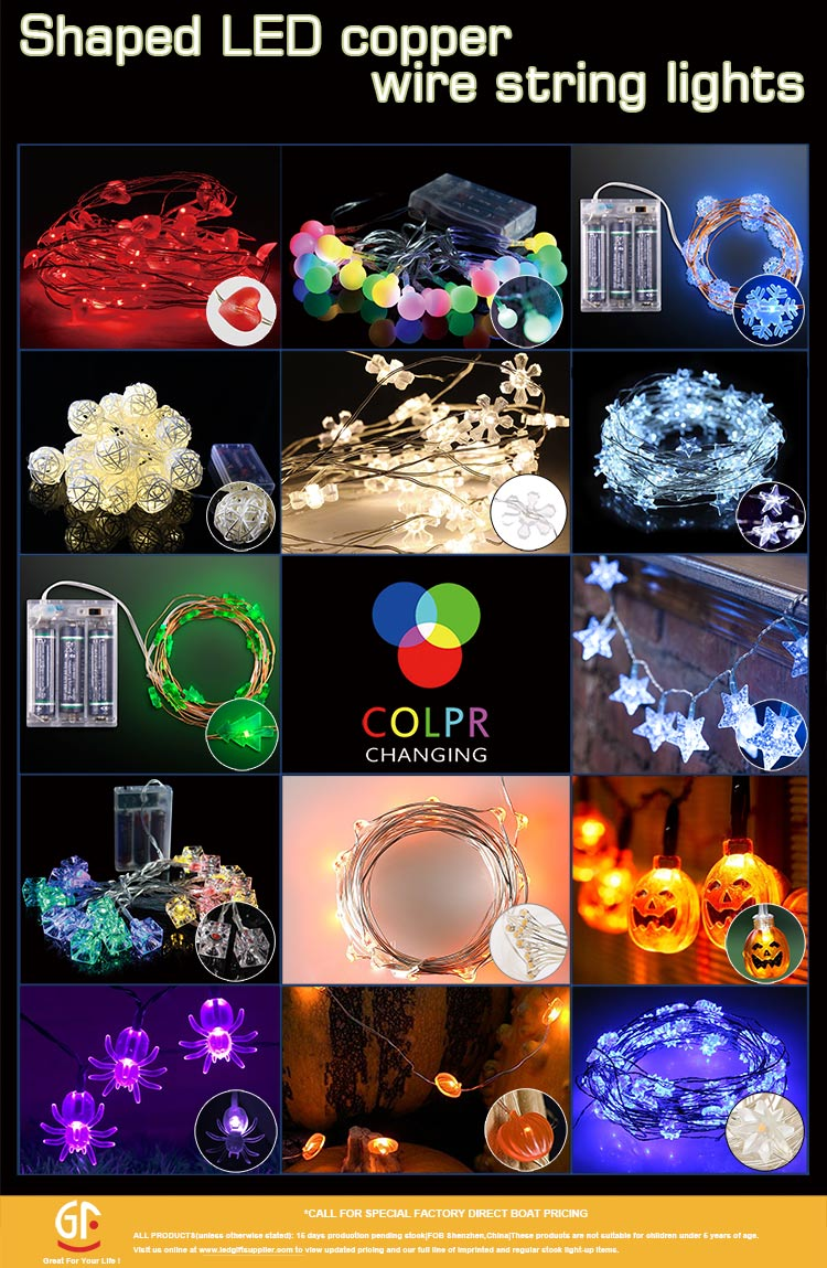 Gifts For Guests Christmas Led Copper Wire String Led Lights