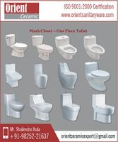 Easy to Install Custom Printed One Piece Toilet Prices