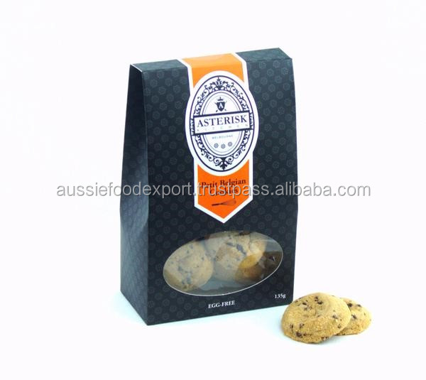 Belgian Cookie - Egg Free Cookies with Belgian Chocolate