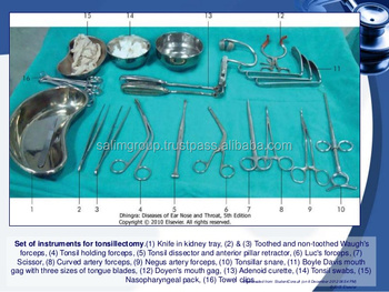 Tonsil Adenoid T & A Instrument Set,All Kind & Types of Surgical Sets