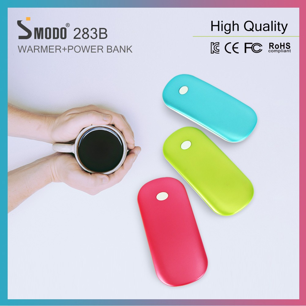 Electronics hand warmer heating pad 3000mah rechargeable battery