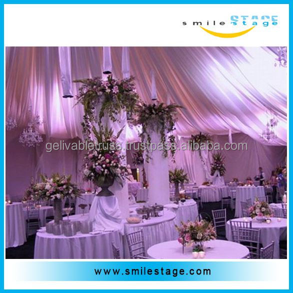 ceiling drape fabric backdrop pipe and drape for events