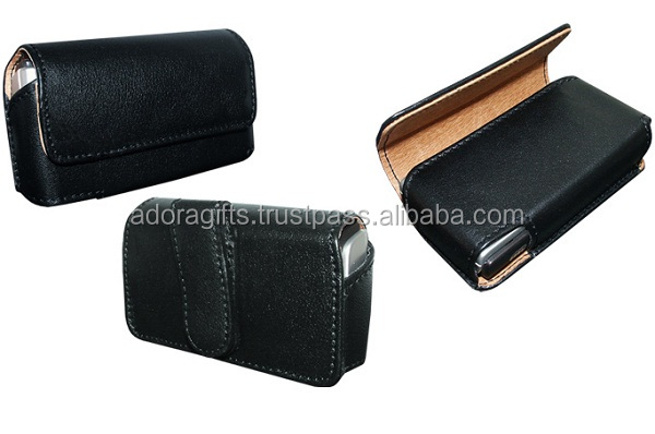 Luxury Genuine Real Leather Flip Case Wallet Cover