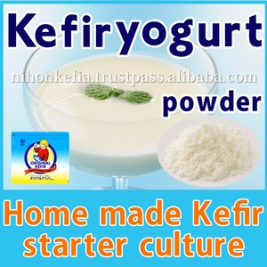 Effective and Delicious kefir yogurt starter culture with natural made in Japan , OEM OK