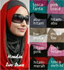 fancy beautiful express hijab with hoody