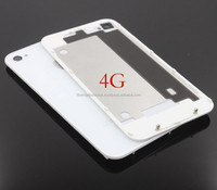 Back Backplate Battery Housing Door Cover Replacement Part Case For Iphone 4 4S Black White Color A Quality
