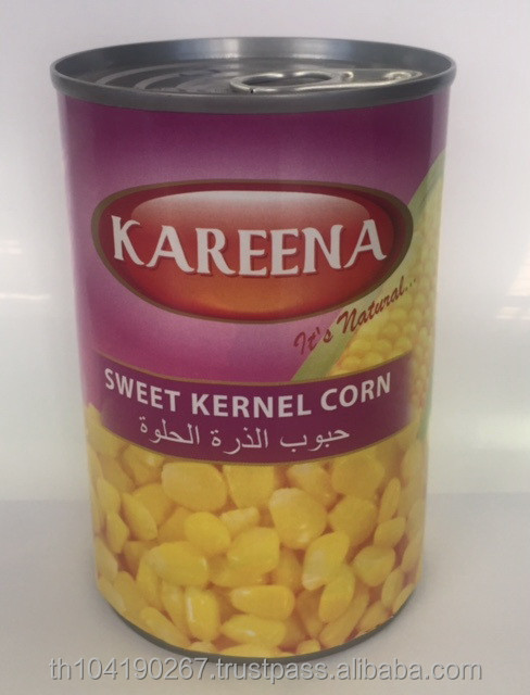 Canned Sweet Kernel Corn in Brine (Thailand)