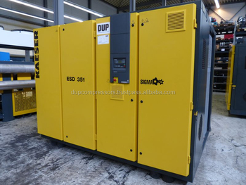 Used rotary screw air compressor Kaeser ESD 351