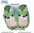 cow style baby shoes