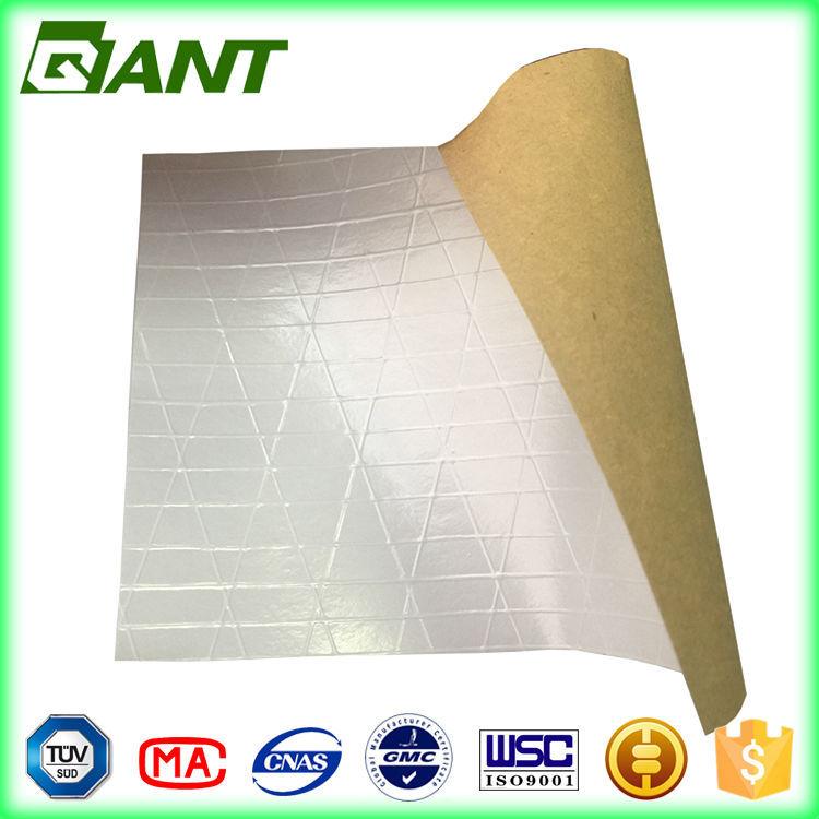 White polypropylene scrim kraft facing heat resistant foil for Fireproof vapor barrier