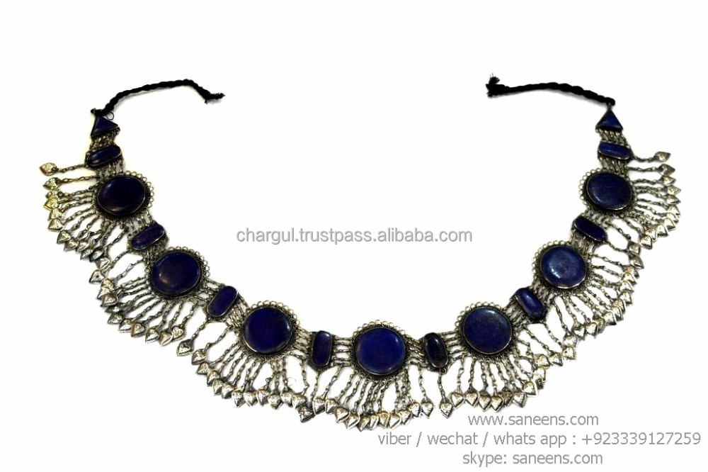 kuchi fashion lapis lazuli variety jewelry belts for belly art dance performance online wholesale jewellery lot for sale
