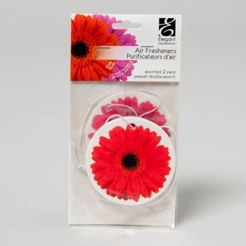 AIR FRESHENERS 2 PK ROOM FRAGRANCE CARD #50859