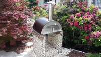 430 stainless steel wood fired oven