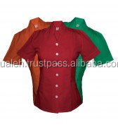 orange scrub uniform, red ladies scrub uniform, green top quality wear