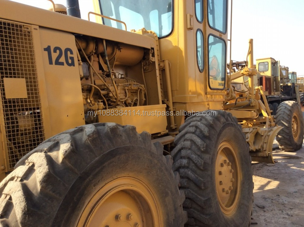 Cheap Price Used CAT Motor Grader 12G,High Quality Used Caterpillar Grader 12G for sale