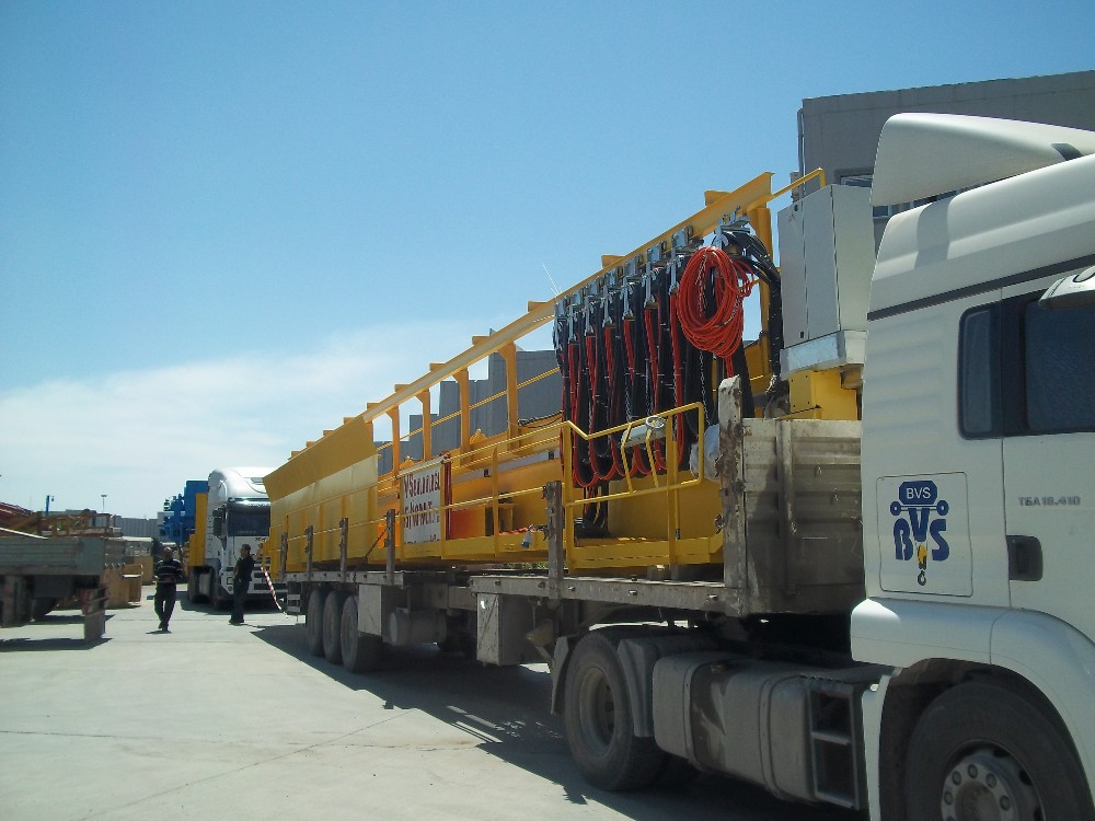40/10 TONS DOUBLE GIRDER OVERHEAD CRANE (Charging Crane for Melt Shop)