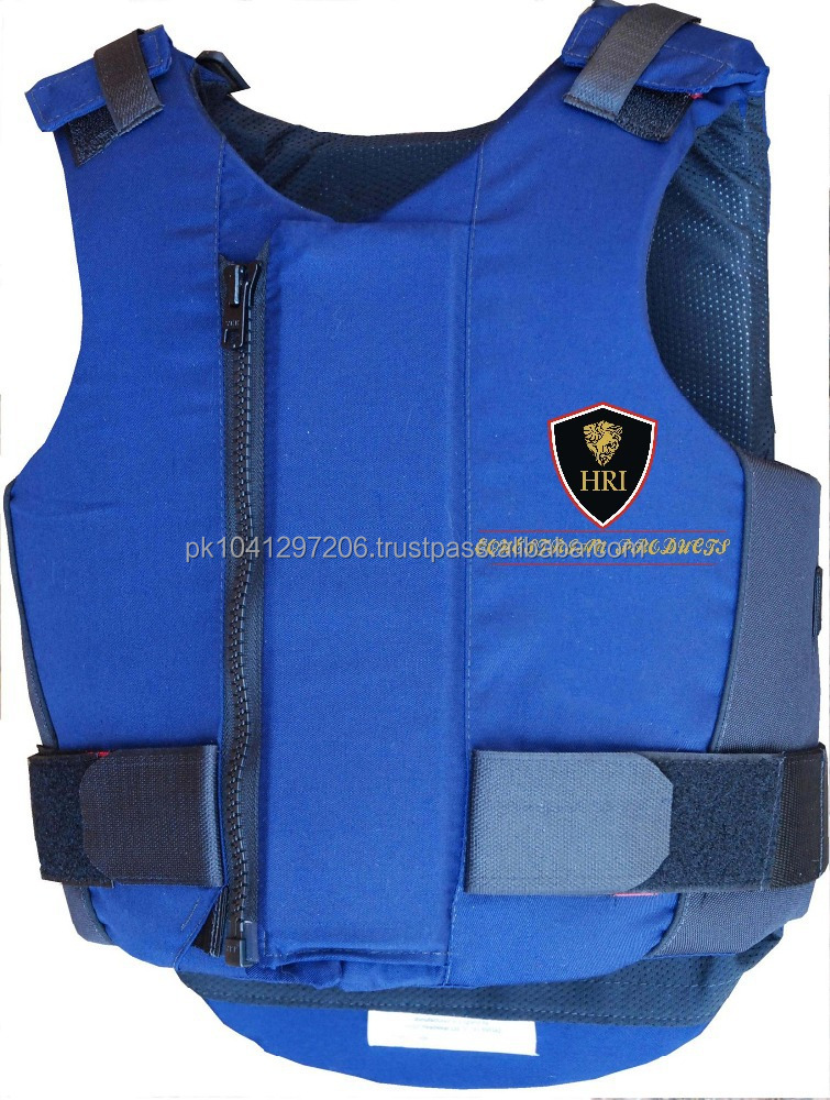 Blue Horse Riding Body Protectors / Horse Racing Body Protectors / Riders Safety Vests