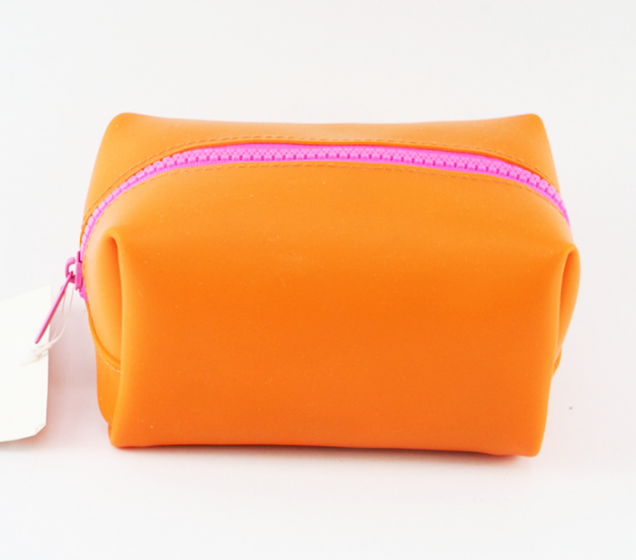 BSCI Branded Microfiber Coin Purses with Zipper Closure