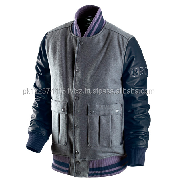 custom made varsity jacket made in pakistan