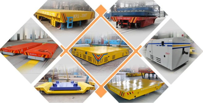 Steel box beam 10T shipyard anti-explosion railway special transfer car