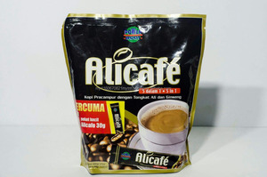 ALICAFE PREMIX DRINK COFFE WITH TONGKAT ALI & GINSENG