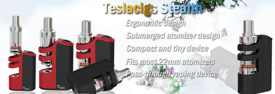 New arrivel Tesla shadow vape tank Teslacigs shadow tank zero leaking Tesla shadow tank