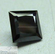 A Fancy Black Moissanite Diamonds 9.25 Hardness At affordable price