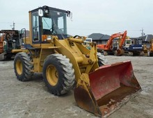 < SOLD OUT > WHEEL LOADER USED KOMATSU WA100 -1 JAPANESE FRONT LOADER 1.2m3 BUCKET SIZE