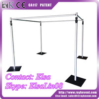High quality wedding backdrop frame pipe and drape for sale