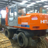 Japanese Wheel Excavator For Sale Used