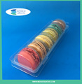 PET Food Grade Macaron Tray, Macaron Pastry Packaging