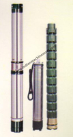 Submersible Pumps (V3&V4) Water Filled (Made In India) Flow Stainless Steel Pump/ PPO Impeller Deep Well Pump