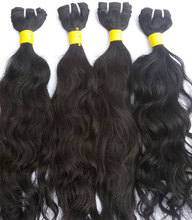 Unprocessed high quality 100% virgin remy indian human Hair extension
