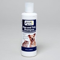FLEA AND TICK SHAMPOO 8 OZ ROYAL PET MADE IN USA #411