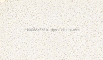 Snow White Quartz Stone Countertops Manufacturer from India