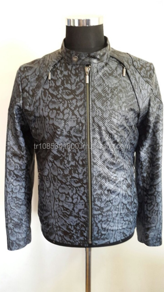 Mens High Quality Leather Jacket