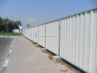 Anty Rust Single Skin Polyster Coated Fencing Panel Profile Corrugated Roofing Sheet Supplier in Dubai UAE Ajman Abu Dhabi